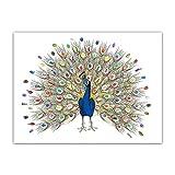 Zerodis Arbol de Huellas, Libro de visitas de la Firma de la Lona del árbol de la Huella Digital de la Boda de DIY con Tinta de 6 Colores para la Fiesta de cumpleaños de la Boda(HK040)