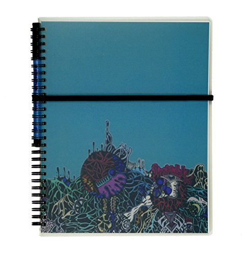 """Scrubby Reusable Whiteboard Notebook -- Large Size (8"""" x 10"""") -- Hatch Cover Photo #5"""