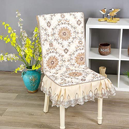 feilai Cojín rectangular para silla de cocina, algodón, grueso, suave, transpirable, 45 x 135 cm (color: Mantuoluoka, especificación: aproximadamente 45 x 135 cm)