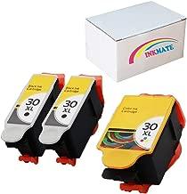 INKMATE Compatible Ink Cartridge Replacement for Kodak 30XL ESP Hero Series 2Black 1Color 3 Pack