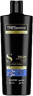 Tresemme Salon Shampoo for Smooth & Shiny Hair, 400ml