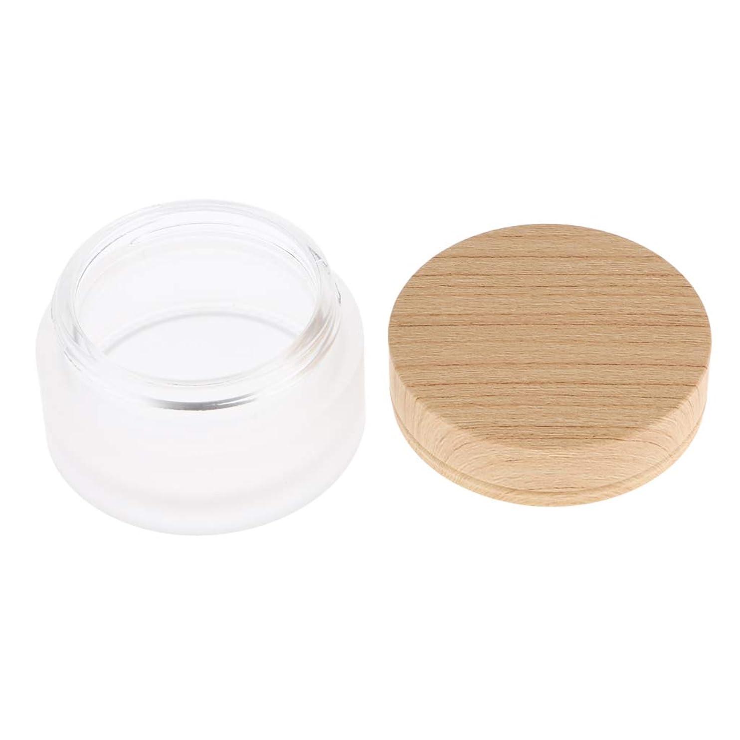 バッテリー効果的下に向けます再利用可能なフェイスクリーム保湿剤化粧容器ポット化粧品瓶缶 - 30g