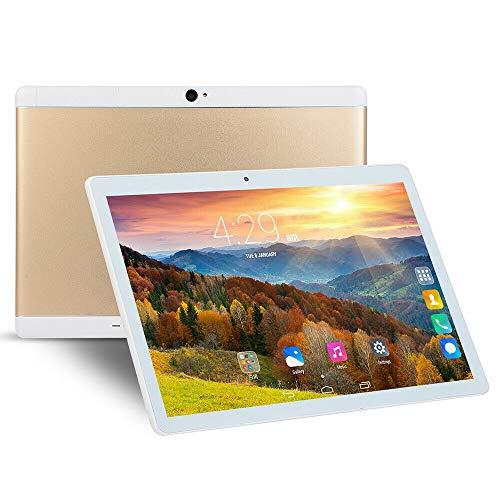 HUANGYUNCHAO Tablet PC Android 4.4 MTK6592 Octa Core a 1,3 GHz, Dual SIM, GPS de la Ayuda, OTG, Wi-Fi, Bluetooth Electrónica (Color : Gold)