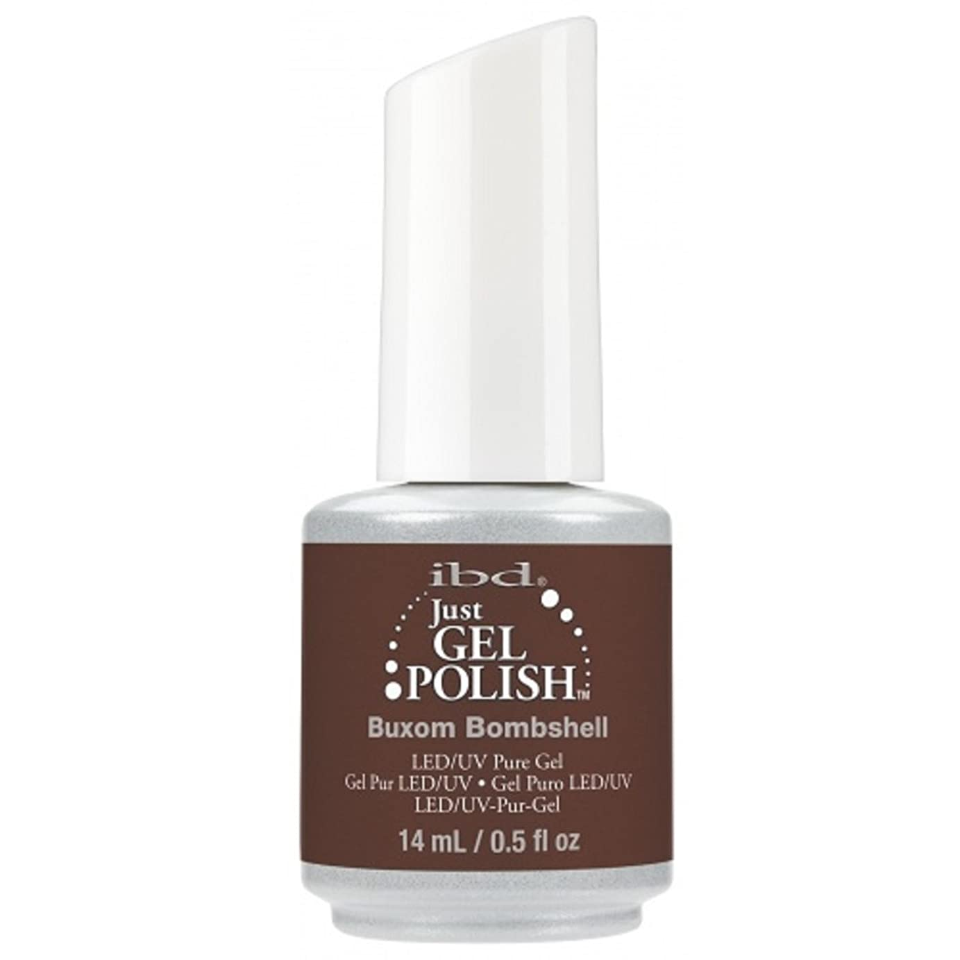 地平線経歴健全ibd Just Gel Nail Polish - 2017 Nude Collection - Buxom Bombshell - 14ml / 0.5oz