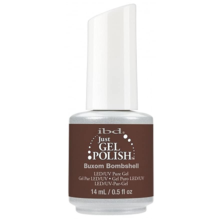 九管理者地区ibd Just Gel Nail Polish - 2017 Nude Collection - Buxom Bombshell - 14ml / 0.5oz