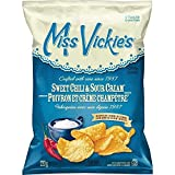 Miss Vickies Kettle Cooked Sweet Chili & Sour Cream Potato Chips 220g/ 7.75oz {imported from Canada} (2-Pack)