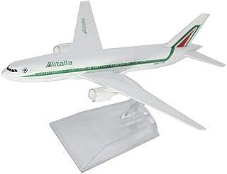 イタリア 飛行機 アリタリア 航空 ボーイング 777 模型 おもちゃ 飛行機 1/400 Boeing ALITALIA ダイキャスト製 完成品 [並行輸入品]