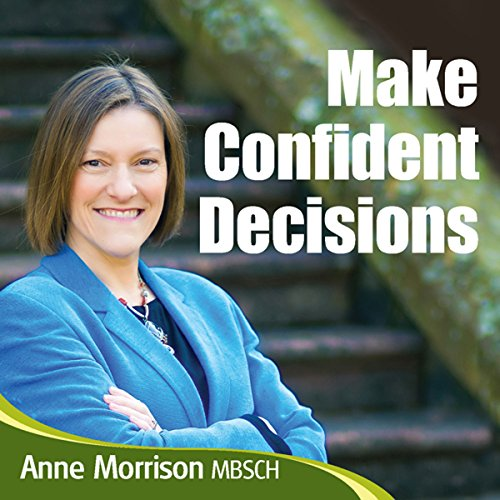 Make Confident Decisions audiobook cover art