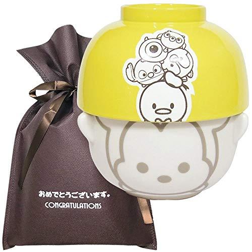 【おめでとうございますギフト】 汁椀茶碗セットミニ ツムツムA【L】