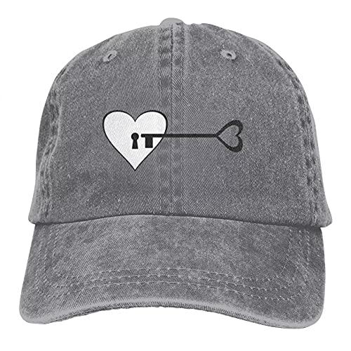 Sombrero hombre Sombrerería Gorra béisbol Gorra de camionero ajustable unisex, para llaves...