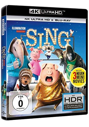 Sing (4K Ultra HD) (+ Blu-ray)