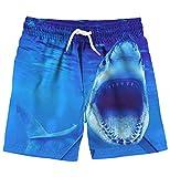 uideazone Boys Swimming Trunks Shark Cute Animal Swimwear Quick...