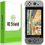 IQ Shield Screen Protector Compatible with Nintendo Switch (Console) LiquidSkin Anti-Bubble Clear Film