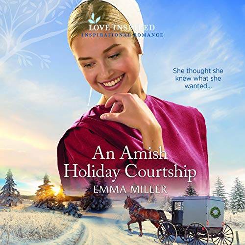 An Amish Holiday Courtship cover art