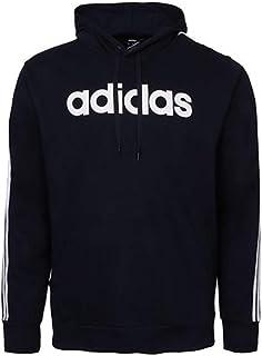 Men's 3-Stripe Logo Hoodie, Navy, L