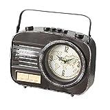 Home Collection Hogar Muebles Decoración Interior Accesorios Reloj de Escritorio en Forma de Radio...