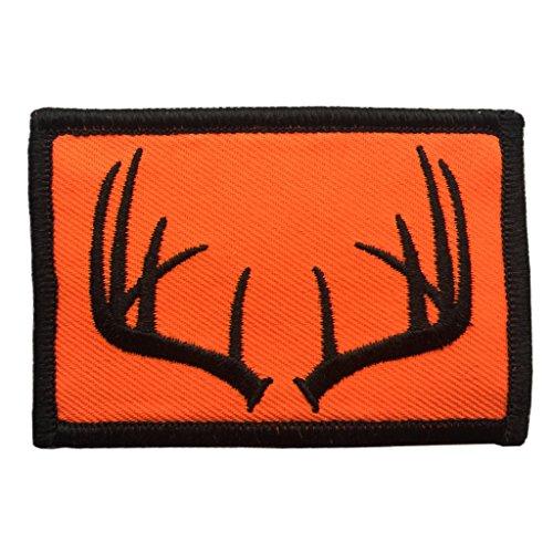 Tactical Wildlife Antlers Patch (Blaze Orange)