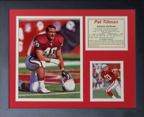 Pat Tillman 11' x 14' Framed Photo Collage by Legends Never Die, Inc.