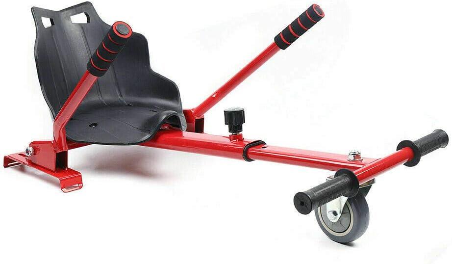 Red Hoverboard Go Kart Adjustable Se Hoverkart Seat Electric Luxury goods for security