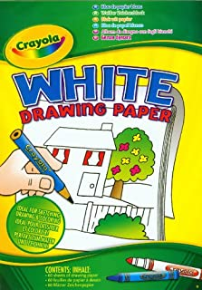 Crayola A4 White Drawing Paper Pad, 60 Sheets (B000ET454E)   Amazon price tracker / tracking, Amazon price history charts, Amazon price watches, Amazon price drop alerts