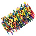 Horizon Group USA Paint Brushes - Assorted Sizes, Set of 250, Assorted by Horizon Group USA