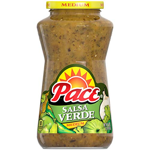 Pace Salsa, Salsa Verde, Great for Cooking and Perfect for Taco Night, 16 Ounce Jar