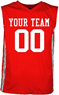 Matrix Custom Basketball Jerseys with Your Names and Numbers