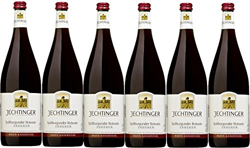 Winzergenossenschaft Jechtingen-Amoltern Spätburgunder Rotwein QbA trocken (6 x 1,0L)