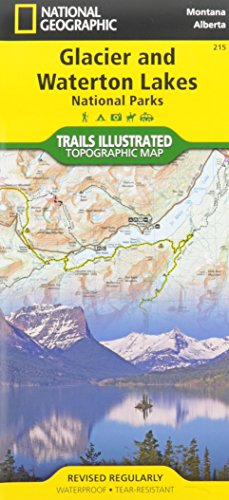 Best Easy Day Hiking Guide and National Geographic Trail Map Bundle: Glacier and Waterton National Parks (Best Easy Day
