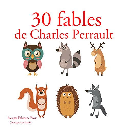 Couverture de 30 fables de Charles Perrault