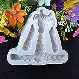 ZXIU 3D Tierform Silikonform Fondantkuchen Formen Küche Keks Cookie Seife Kuchen Dekoration Werkzeuge
