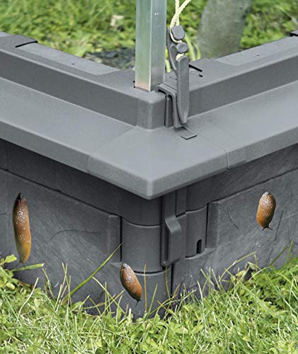 Juwel Schneckenkante für Universal Baustein, 60x11cm, 6 Stück