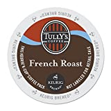 Tully's Coffee, French Roast, Single-Serve Keurig K-Cup Pods, Dark Roast Coffee, 96-Count (4 Boxes...