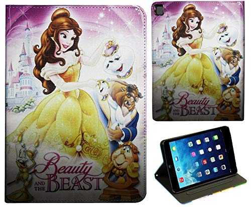 For Apple iPad Pro 9.7 / iPad Pro 9.7'' / iPad 9.7 / iPad Air 1 2 Beauty and the beast Belle Disney Case Cover