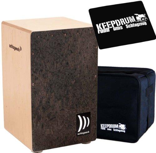 Schlagwerk CP 4007la Raíz de Perú cajón madera + Keepdrum Gig Bag + CP de 01Pad
