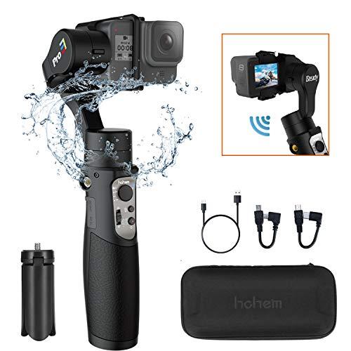 hohem iSteady Pro3 ジンバル3軸アクションカメラスタビライザー防水 GoPro Hero 8/7/6 Osmo Action RX0 YI 4Kカメラ対応