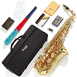 Mendini MAS-L+92D+PB saxophone model by Cecilio is a great instrument for  students and a great addition to intermediate and professional players.