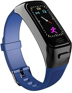 HBBOOI Reloj Inteligente AI con Bluetooth botón de los Auriculares Monitor de Ritmo cardíaco Inteligente Band Pulsera de Tiempo Largo de Espera Sport Reloj de los Hombres