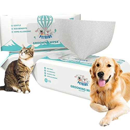 (30% OFF) Grooming Wipes for Dogs & Cats 100% Natural $10.49 – Coupon Code
