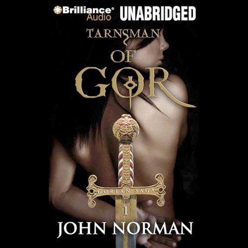 Tarnsman of Gor audiobook cover art