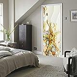 Puerta Mural Beach Starfish Shell Autoadhesivo Impermeable Papel Pintado Arte...