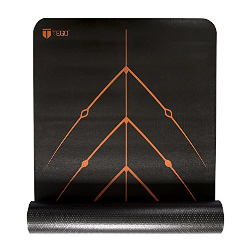 TEGO Stance Truly Reversible Mat with GuideAlign - 5mm Thick Comes with/Without Mat Holder Bag
