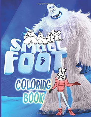 Smallfoot Coloring Book: Coloring Books For Adults, Teenagers - Crayola Creativity