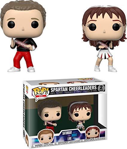 Funko Pop Television: Saturday Night Live - Spartan Cheerleaders 2Pack Collectible Figure, Multicolor