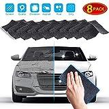 N&A Paño para eliminar arañazos de coche,paño Nano Magic para reparación de arañazos de coche, fácil de reparar arañazos pequeños y medios, manchas de agua (8 cloth)