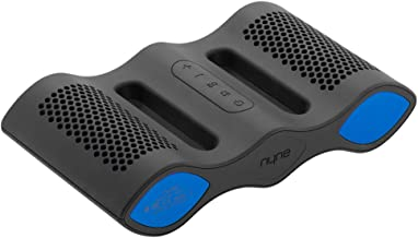 NYNE AQUAGRY Aqua IPX7 Rated Waterproof Floating Portable Bluetooth Speaker with Built in Hands Free Microphone (Grey/Blue)