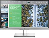 "Hewlett Packard 1FH47A8#ABA EliteDisplay E243 23.8"" Screen LCD, Silver"