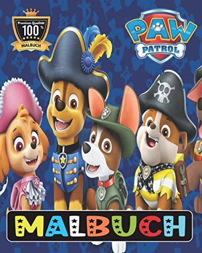Paw Patrol MALBUCH: Tolles Malbuch für Kinder ab 2-6 Jahren (+50 hochwertige Abbildungen) EXKLUSIVE AUSGABE GESCHENKE FUR KINDER