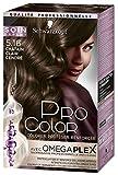 Pro Color - Schwarzkopf - Coloration Permanente Cheveux - Anti-Casse - Châtain Clair Cendré 5.16