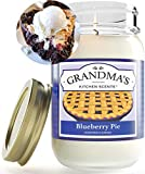 👳♀️ DELICIOUS SCENT: Fill your room with the scent of delicious fresh baked blueberry pie, just like grandma used to make! Relax while you are reminded of pleasant memories and settle in to enjoy the comforts of home. 👳♀️ A THOUGHTFUL GIFT: A fun g...
